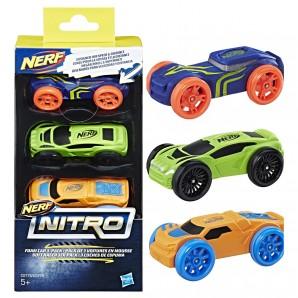 Nerf Nitro Soft Racer 3-er Pack,