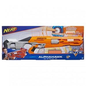 Nerf Accustrike Alphahawk inkl. 10 Accustrike-Darts