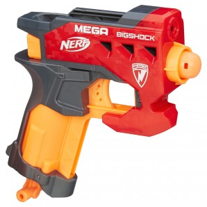Nerf N-Strike Mega Big Shock 2 Mega Whistler Darts