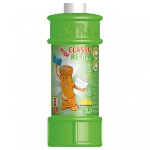 Seifenblasen-Refill, 1 Liter Nachfüllpack Classic