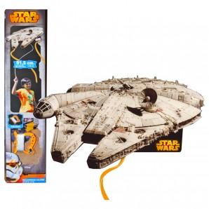 Drachen 3D Millenium Falcon Star Wars,