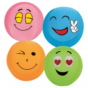 Cushee Ball Funny Face 13 cm