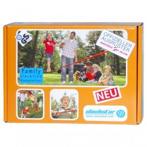 Slackline-Set Family Line 15 m x 50 mm