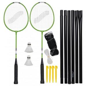 Badminton Set Garden GS mit 2 Schlägern,