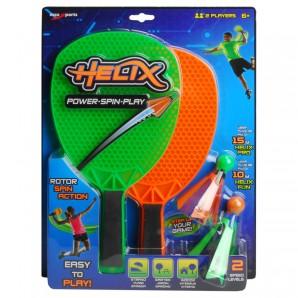 Helix Spin Play Spiel 2 Schläger und 2 Shuttles