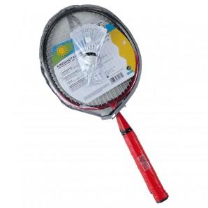 Badminton-Set mit Kurzschaft Schaft 22 cm,