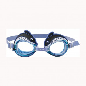 Schwimmbrille Flipper blau Kids,