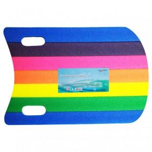 Schwimmbrett Rainbow 50x30 cm,