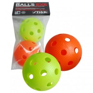 Unihockey Ball bunt, 2 Stk.