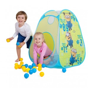 Pop-up Ball-Haus Minions 75x75x90 cm,