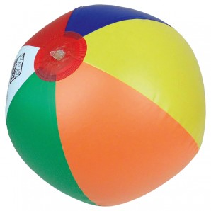 Wasserball Reflex-Farben ø ca. 33 cm