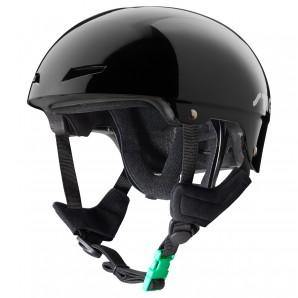 Helm schwarz Gr.M (52-56) lackierte Nylon-Schale