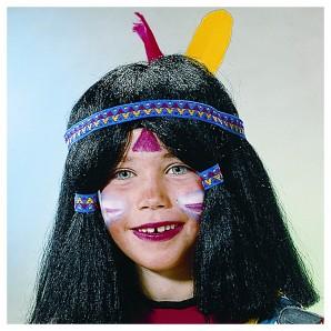 Perücke Indianer Kinder