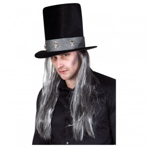 Hut Totengräber mit Haar