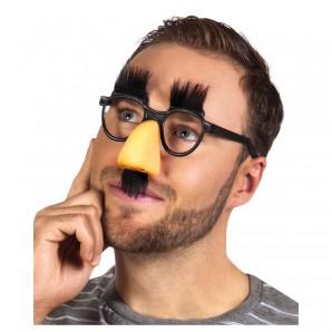Brille mit Nase Augenbrauen