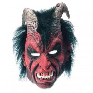 Maske Teufel Latex