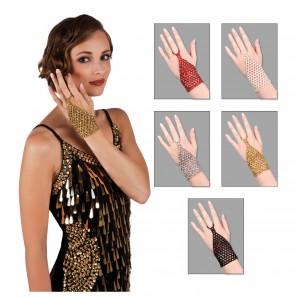 Handschuhe fingerlos, ass. 5-fach assortiert,