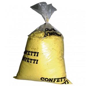 Konfetti 10 kg, gelb