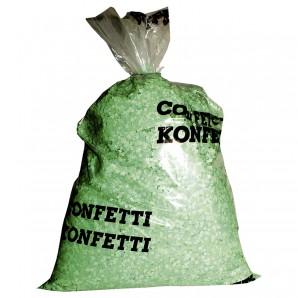 Konfetti 10 kg, grün