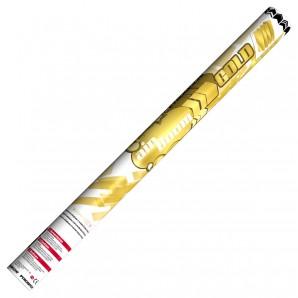 Konfetti-Luftkanone gold mit goldenen Maxi-Konfetti