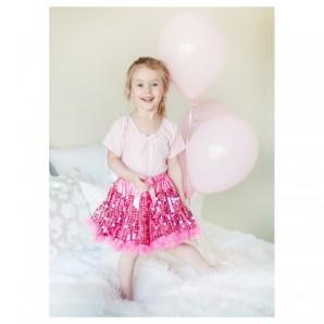Rock Glitter pink, 4-6 Jahre 1-teilig,