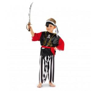 Pirat King Gr.S 3-5 Jahre 4-teilig