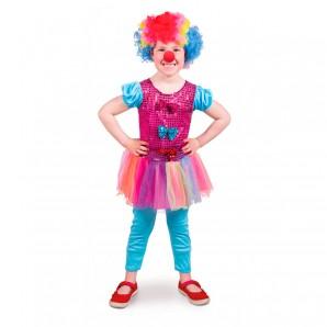 Clown-Mädchen Gr.S