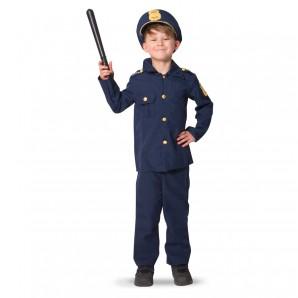 Polizist Gr.S 3-5 Jahre 3-teilig