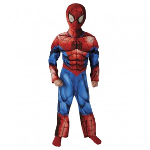 Ultimate Spider Man 7-8 J. Premium Kostüm mit Overall