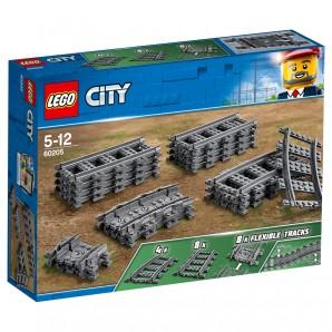 Schienen Lego City Eisenbahn