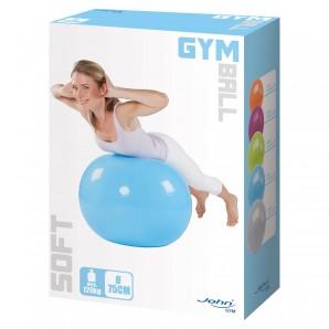 Gymnastikball, ø 75 cm blau,