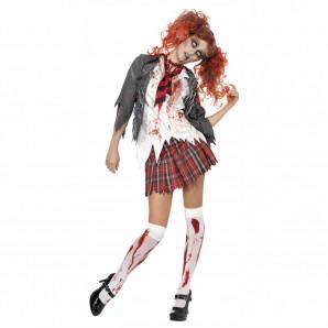 Zombie Schulmädchen, Gr.M Jacke,