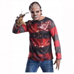 Freddy Krüger 3-teilig Maske,