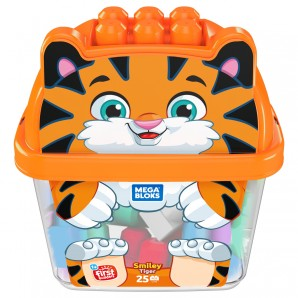 Mega Bloks Tiger Bausteinbox