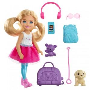 Barbie Travel Chelsea Puppe