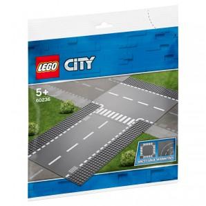 Gerade und T-Kreuzung Lego City