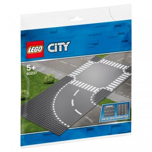 Kurve und Kreuzung Lego City
