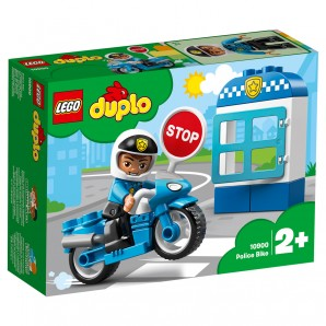 Polizeimotorrad Lego Duplo