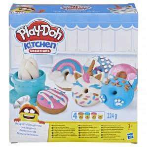 Play-Doh Bunte Donuts Knete