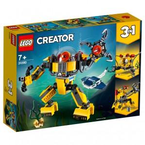 Unterwasser-Roboter Lego Creator
