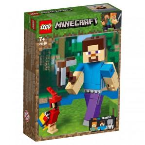 Steve Minecraft BigFig mit Papagei