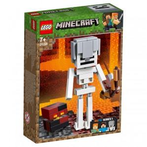 Skelett Minecraft BigFig mit Magmawürfel