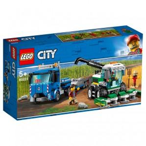 Transporter für Mähdrescher Lego City
