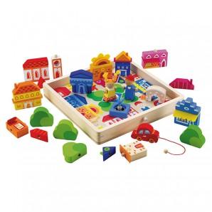 Spielpuzzle Stadt 18-teilig