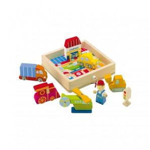 Spielpuzzle Mechaniker 8-teilig