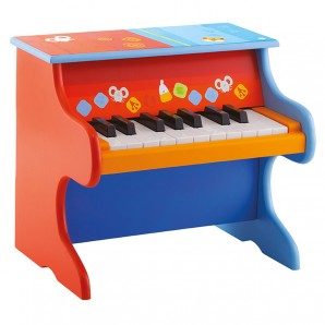 Klavier bunt 33x29x26 cm