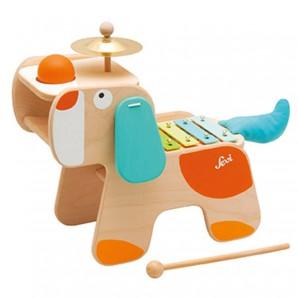 Musiktisch Hund 4 in 1 35x29x19 cm