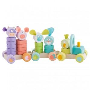 Steckzug Formen & Farben 24-teilig
