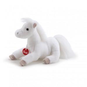 Pferd weiss Poppy 32 cm Plüsch