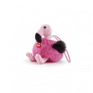 Anhänger Flamingo Plüsch